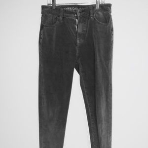 AE high-Rise size 0 light grey skinny jeans